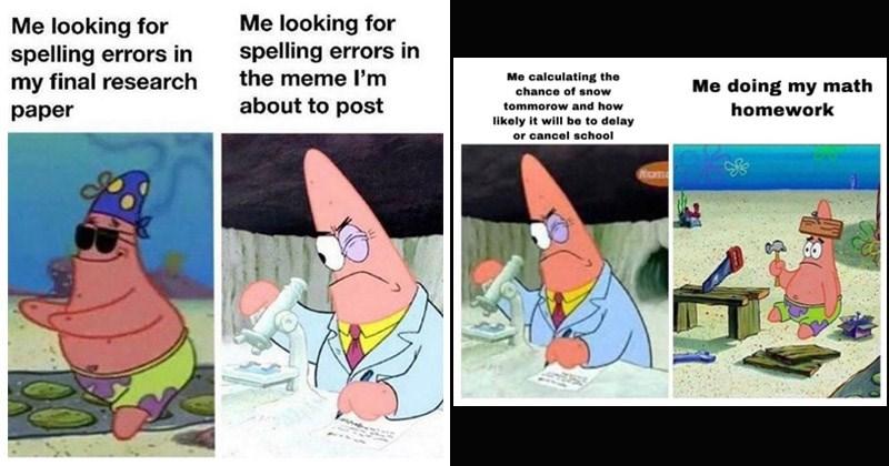 Patrick Formation Meme Youtube