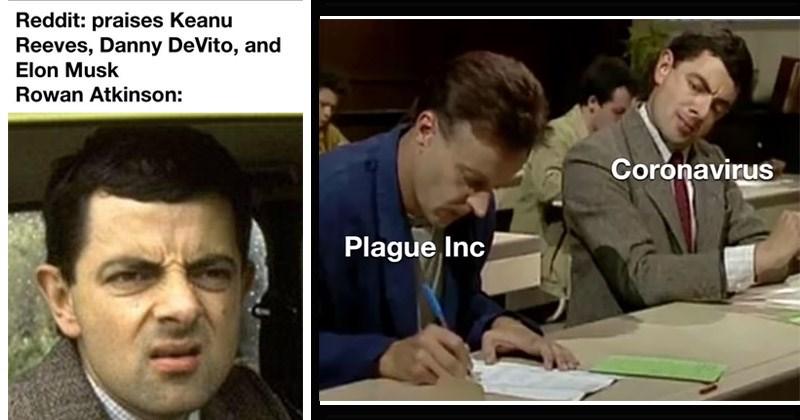 Fourteen Memes In Honor Of The Lovable Mr Bean Memebase Funny