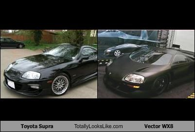 Toyota Supra Totally Looks Like Vector Wx8 Cheezburger Funny
