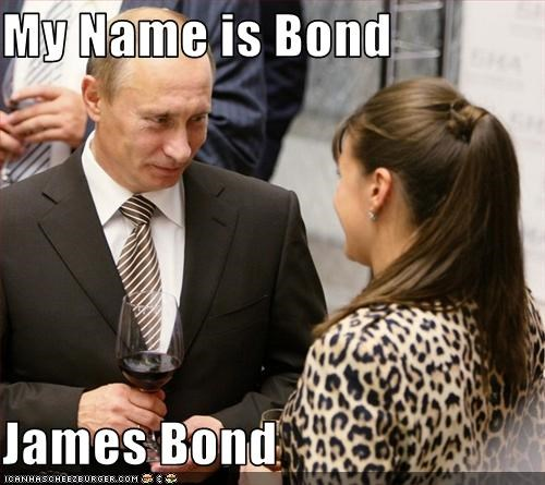 My Name Is Bond James Bond Cheezburger Funny Memes Funny
