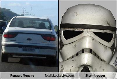 Renault Megane Totally Looks Like Stormtrooper Cheezburger