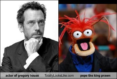 Actor Of Gregory House Totally Looks Like Pepe The King Prawn