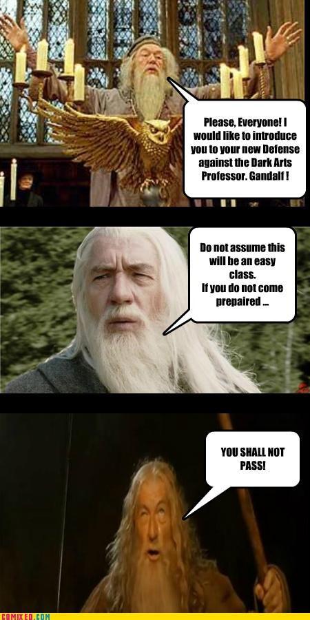 We Shall Not Pass Gandalf Quickmeme