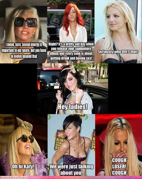 No Honour Among Divas Pop Culture Funny Celebrity Pictures