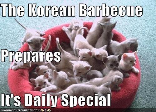 Korean Bbq Hunt Cheezburger Funny Memes Funny Pictures