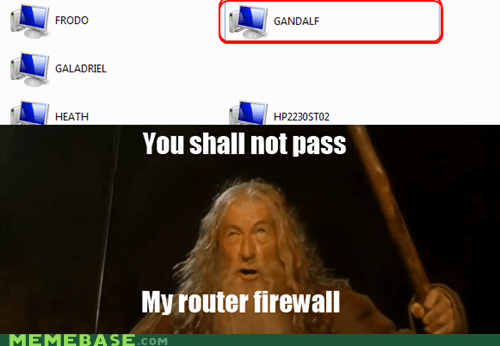 You Shall Not Pass Meme