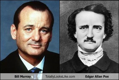 George Noory Totally Looks Like Edgar Allan Poe Cheezburger