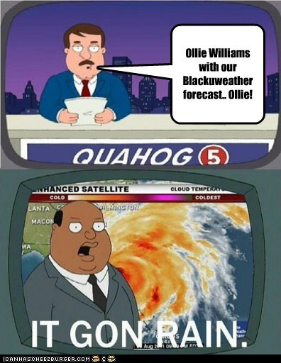 Ollie Williams With Our Blackuweather Forecast Ollie
