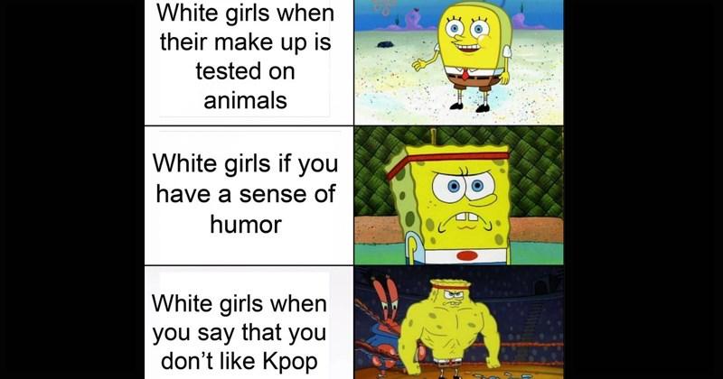 Memebase Increasingly Buff Spongebob All Your Memes In Our