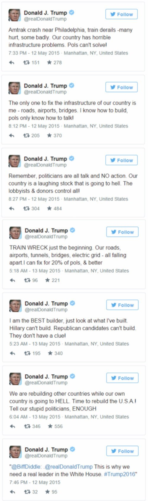 Donald Trump S Twitter Account Is The Gift That Keeps On Giving Fail Blog Funny Fails
