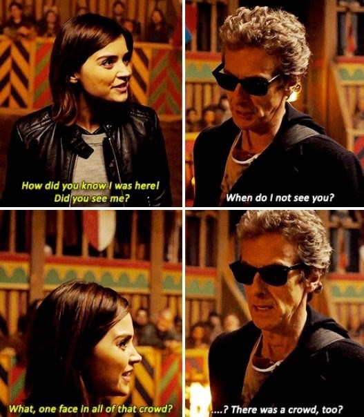 I Love The 12th Doctor And Clara S Friendship So Much