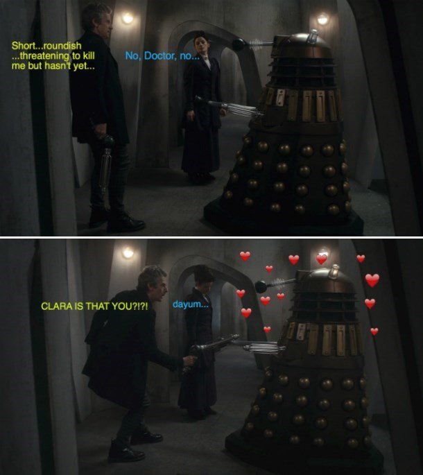 Peter Capaldi Doctor Who Quote And Clara Oswald Image 6393775