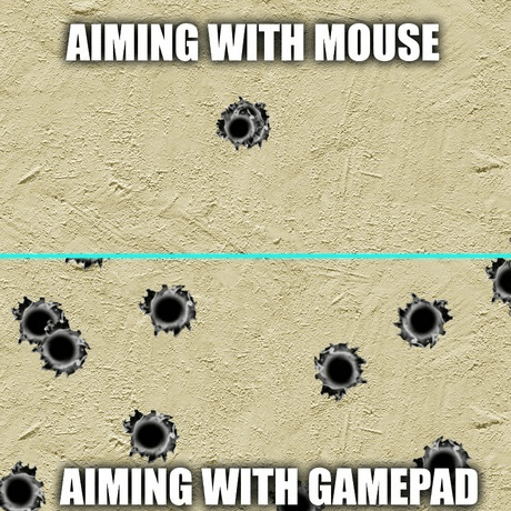 Imagine What You D Be Like Aiming In Real Life Video Games