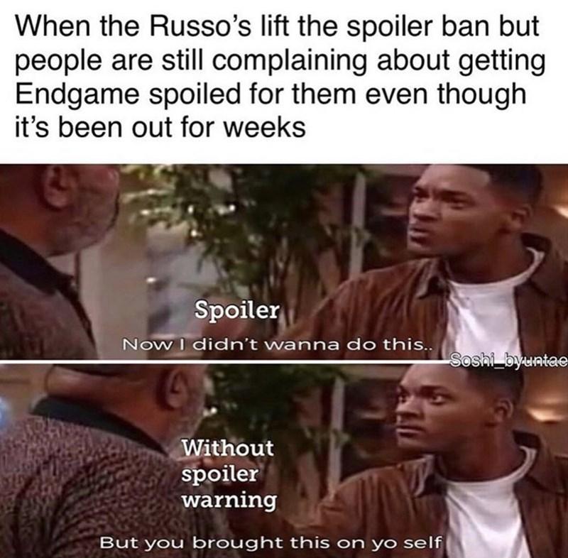 43 Spoilery Avengers Endgame Memes For Everyone Who S Still