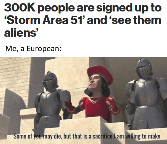 25 Best Funny Area 51 Memes Aliens Meme Funny Memes Funny Pictures