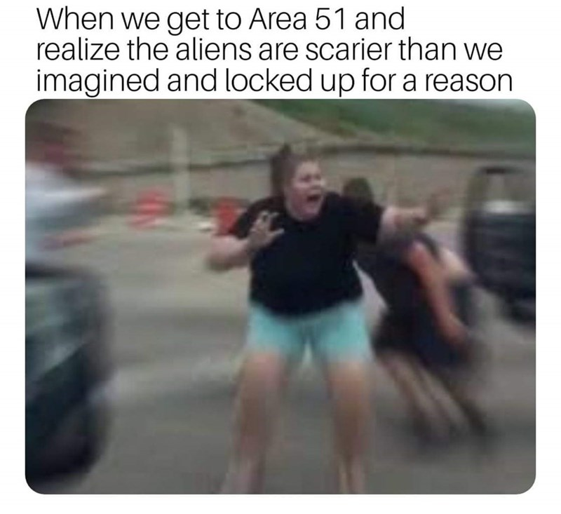 17 Area 51 Memes For Everyone Who S Ready To Storm That Sh T