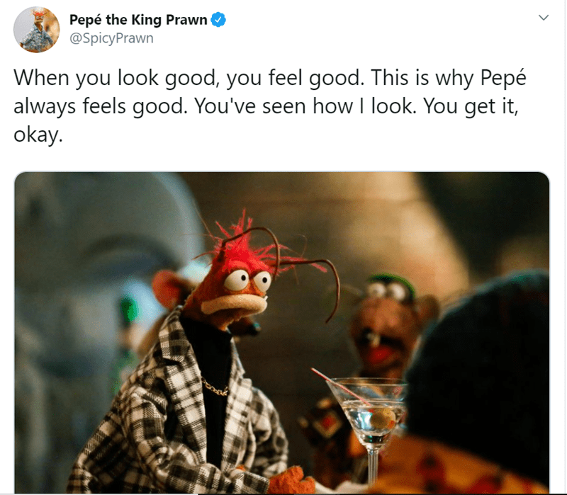 Pepe The King Prawn Tweets Deep Insights About Life I Can Has