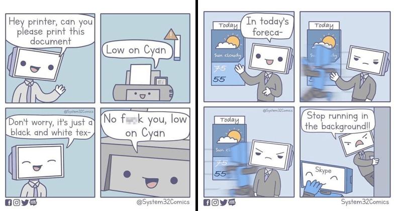 Best Computer Cartoons Funny Computer Cartoons Funny Cartoon