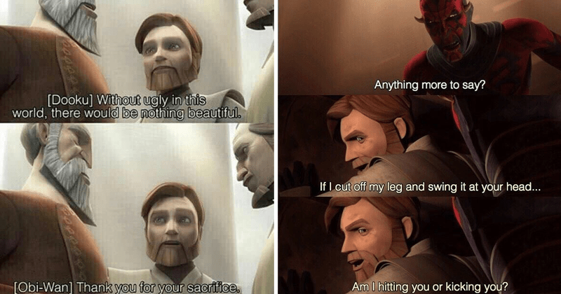 Troll Y Obi Wan Moments From All Over The Star Wars Timeline