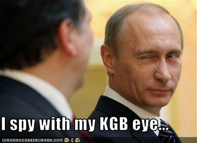 I Spy With My Kgb Eye Cheezburger Funny Memes Funny Pictures