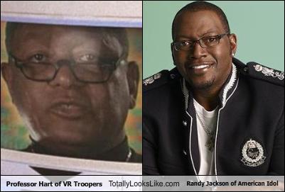 Professor Hart Of Vr Troopers Totally Looks Like Randy Jackson Of