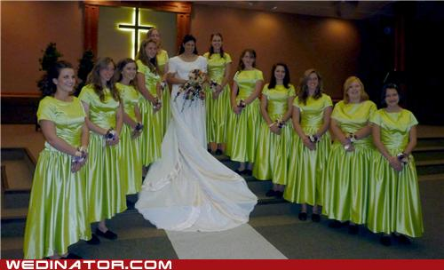 Ugly Bridesmaids Dresses