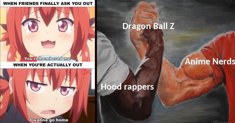 Funny Anime Memes Animememes