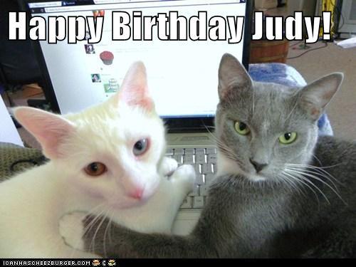 Happy Birthday Judy Cheezburger Funny Memes Funny