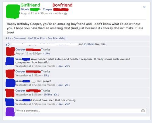 He S A Man Of Few Words Failbook Failing On Facebook