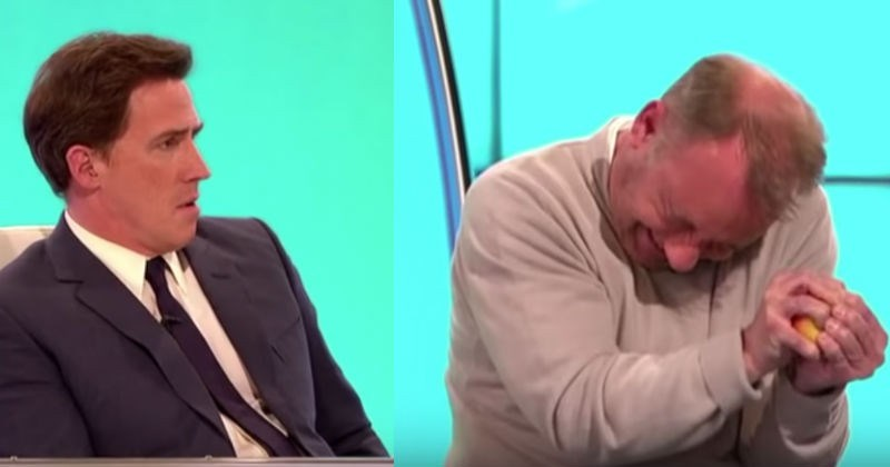 Bob Mortimer Claims He Can Break Apple In Half With Bare Hands