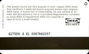 Gift Card Buono Ikea Ikea Italy Ikea Colit Ikea 050 13