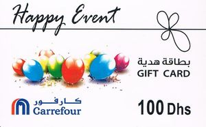 Gift Card Happy Event Carrefour United Arab Emirates