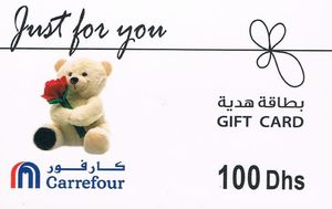 Gift Card Just For You Carrefour United Arab Emirates