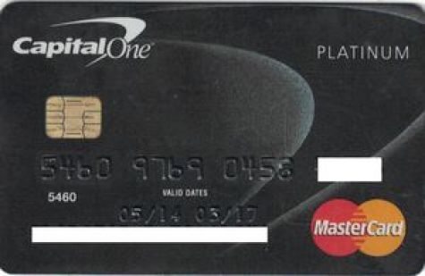 Bank Card: Capital One Platinum (Capital One Bank, United Kingdom ...