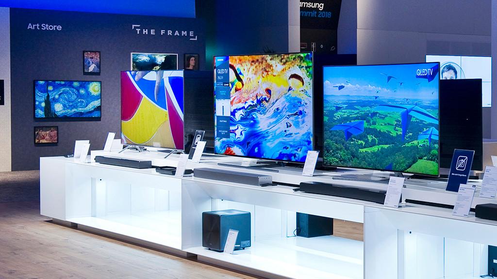 Ubersicht Samsung Fernseher Im Test Audio Video Foto Bild