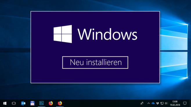 Windows 10 Optimal Neu Installieren Computer Bild
