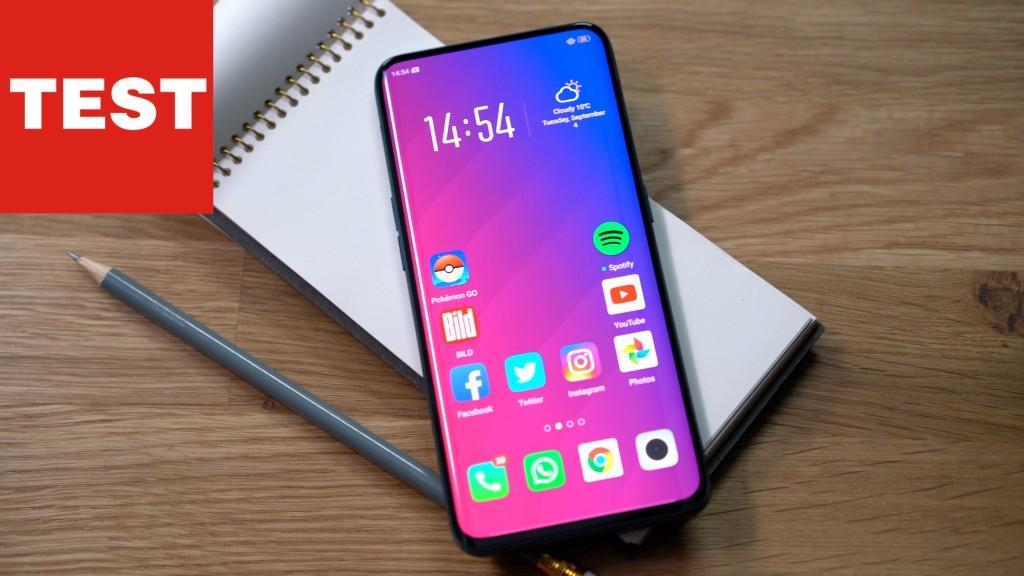 Smartphone-Knaller Aus China: Oppo Find X Im Test