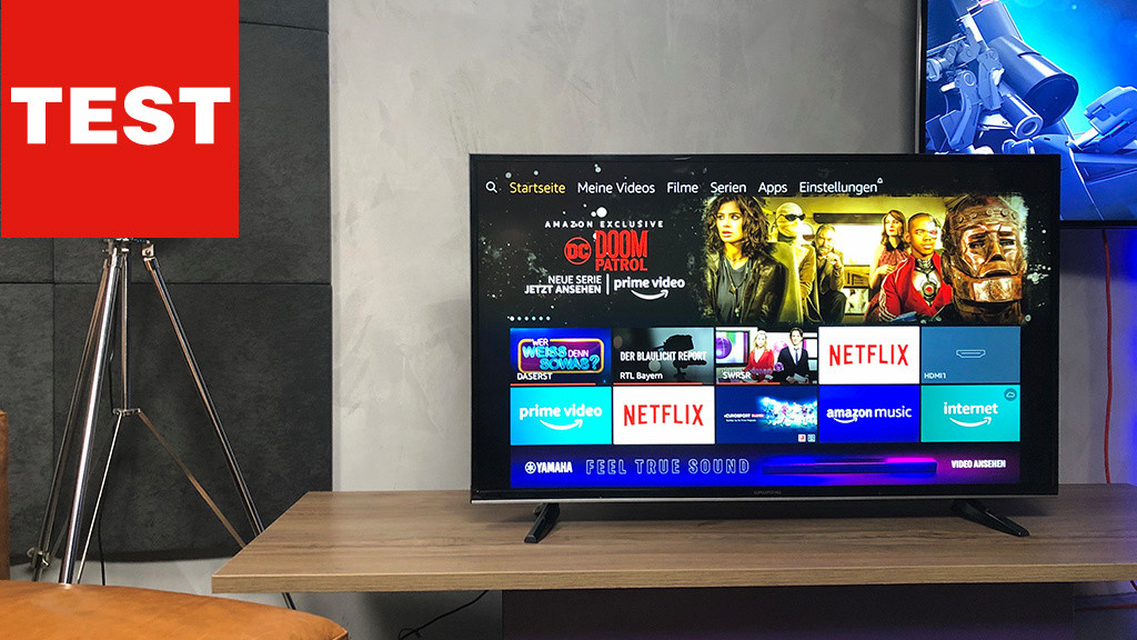 43 Bis 55 Zoll Fernseher Bis 500 Euro Im Test Computer Bild