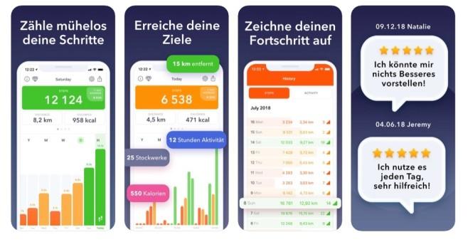 Fur 2020 Die Besten Gratis Apps Fur Sportmuffel Im Test Bilder Screenshots Computer Bild