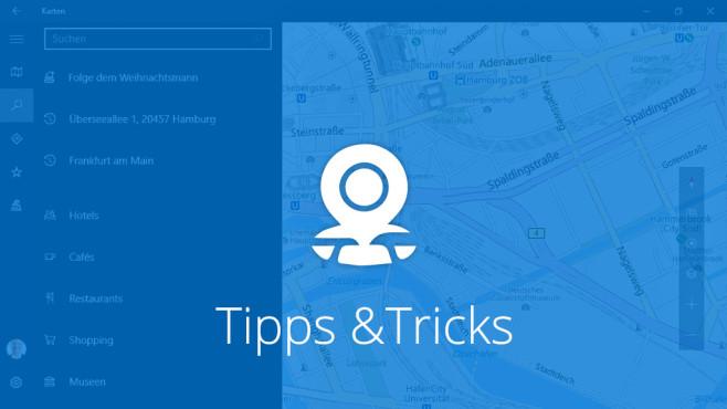 Windows 10 Die Besten Tipps Zur Karten App COMPUTER BILD