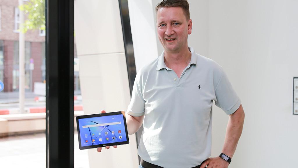 Huawei Mediapad T3 Lte Tablet Im Test Computer Bild