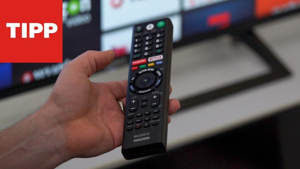 Einstellungen Fur Sony Fernseher So Geht Es Richtig Computer Bild