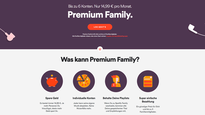 Spotify Arger Um Den Familien Tarif Computer Bild