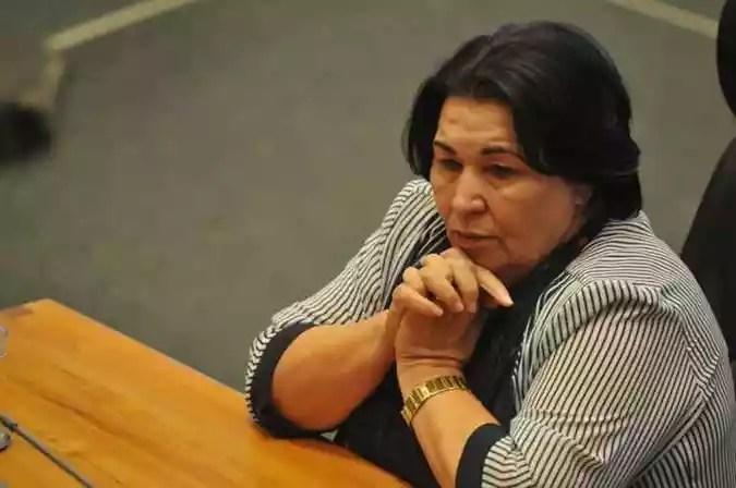 Luzia de Paula não foi eleita com os 9.482 votos recebidos na eleição de 2018(foto: Minervino Junior/CB/D.A Press)