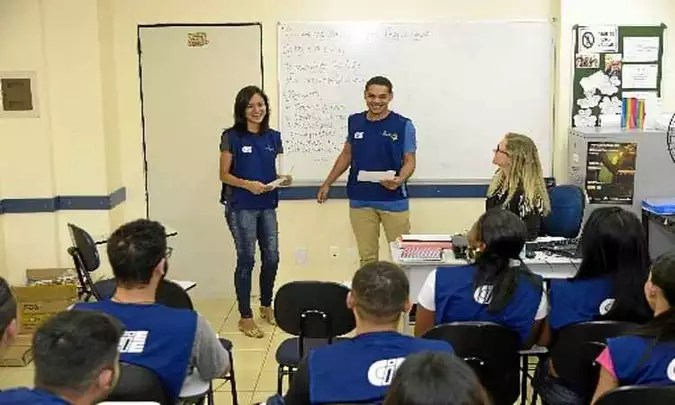 Centro de Integração Empresa-Escola ajuda na colocação de jovens no mercado de trabalho(foto: Ed Alves/CB/D.A. Press)