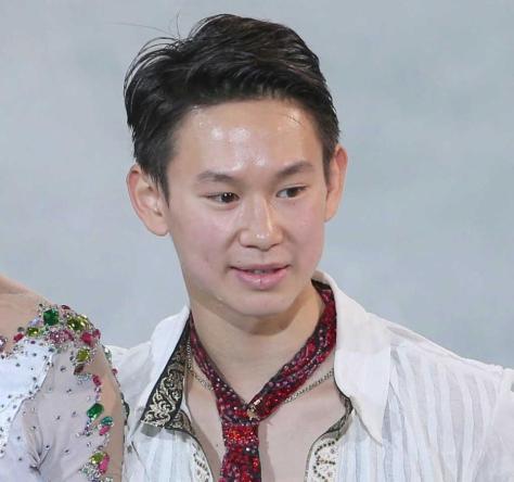 ソチ五輪銅メダリストのデニス・テンさん=2014年撮影