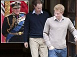 Princes William and Harry visit their grandfather to cheer him up as Buckingham Palace say he is unlikely to be discharged in time for his birthday on Sunday