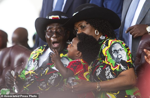 Image result for mugabe 93rd birthday celebrations