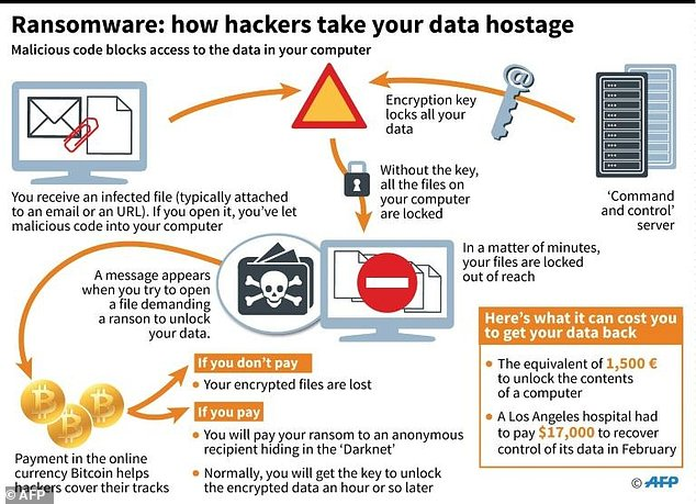 Ransomware: How do hackers take your data hostage?