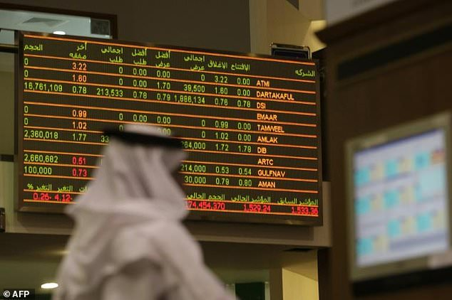 The value of shares traded on Gulf stock markets plummeted this year, a report says, in the latest sign of how the region's economies are struggling with the drop in oil prices